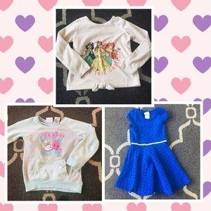 🍓 Girls 4T 4 5T 5 Lot Dress Dresses Shopkins Tops